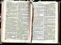 Bible, open
