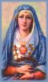 Mary, heart pierced