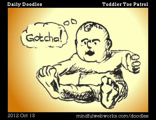 Toddler Toe Patrol