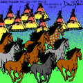 Horses and Teepees