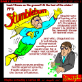 It's Stumblebum!