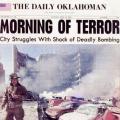 Daily Oklahoman headline Morning of Terror