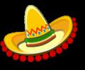 Sombrero with balls