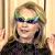 Hillary in Garish Glasses