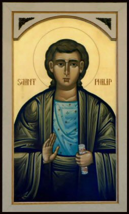 St Philip iconograph